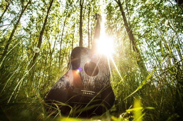 Singen im Garten